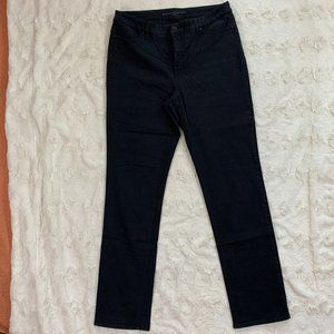 "Chico's ""SO LIFTING"" Slim Black Jeans - Size 2"